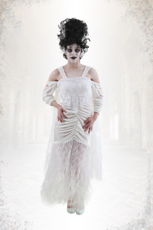 Best ideas about Bride Of Frankenstein Costume DIY . Save or Pin DIY Bride of Frankenstein Costume and Makeup Halloween Now.