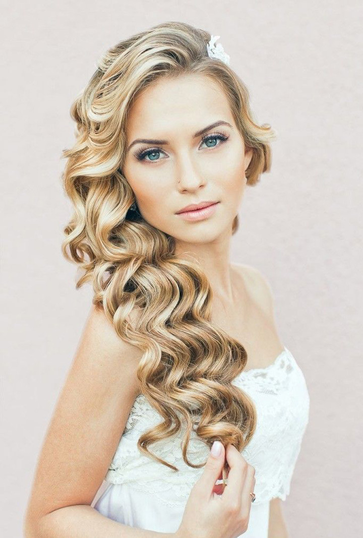 Best ideas about Brides Hairstyles . Save or Pin Must See Spiral Curl Hairstyles for Brides Mon Cheri Bridals Now.