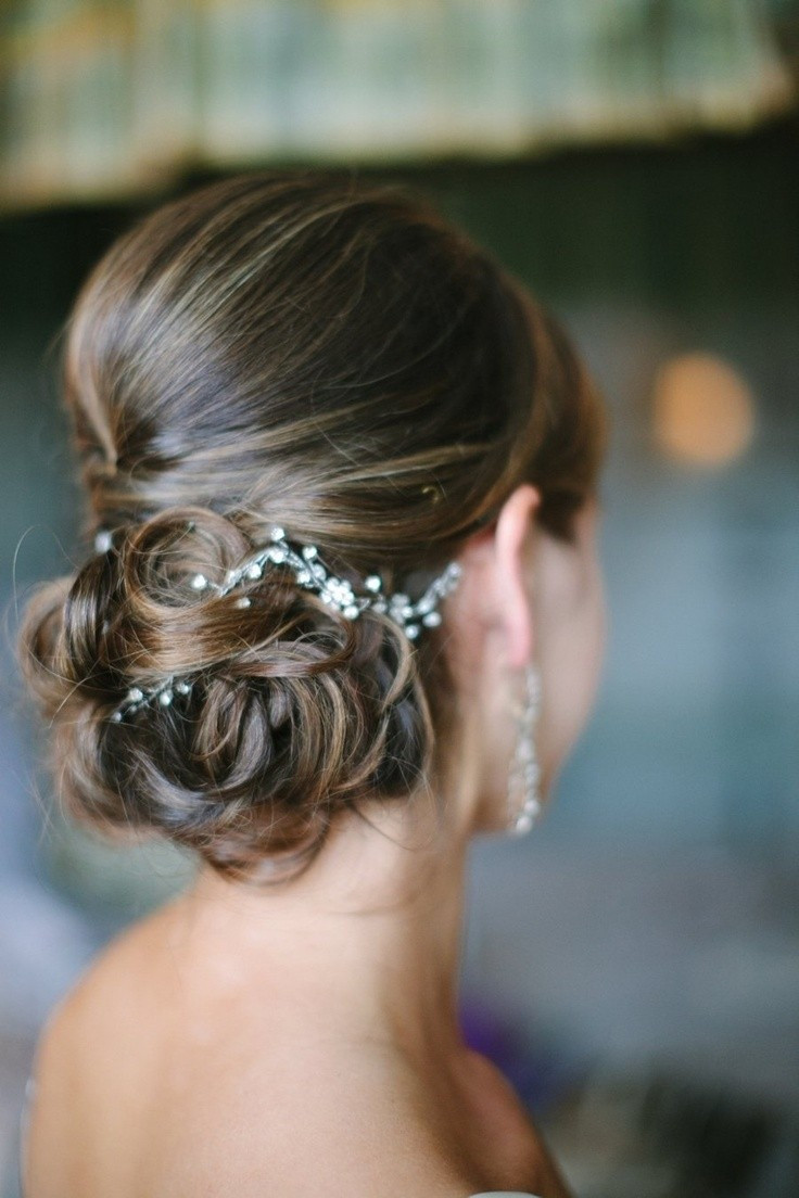 Best ideas about Brides Hairstyles . Save or Pin 25 Best Hairstyles for Brides Now.