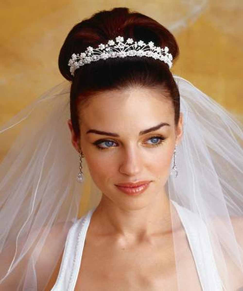 Best ideas about Brides Hairstyles . Save or Pin Latest Bridal Hairstyle Picture Now.