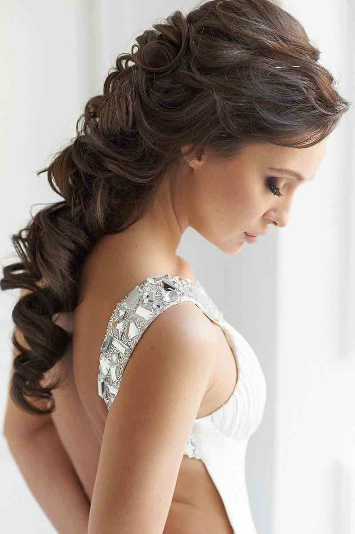 Best ideas about Brides Hairstyles . Save or Pin 21 Classy and Elegant Wedding Hairstyles MODwedding Now.
