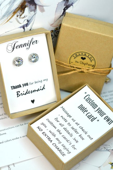 Best ideas about Bridesmaid Gift Ideas Under 20 . Save or Pin 5 Bridesmaid Gifts under $20 – Weddings & Wine Now.
