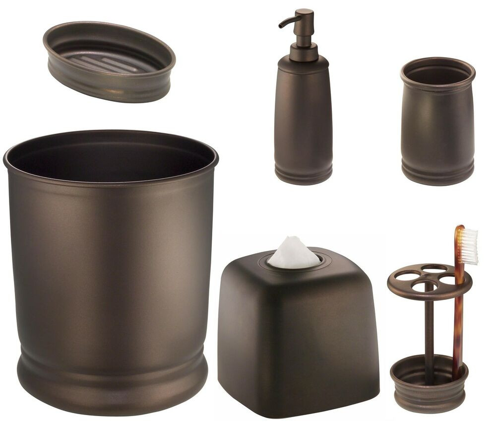 Best ideas about Bronze Bathroom Accessories . Save or Pin Oil Rubbed Bronze Decorative Bathroom Accessory Accents Now.