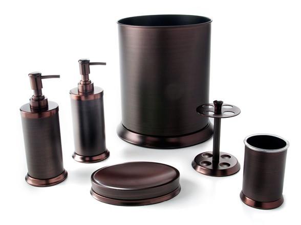 Best ideas about Bronze Bathroom Accessories . Save or Pin Pembroke 6 PC Oil Rubbed Bronze Bath Set Now.