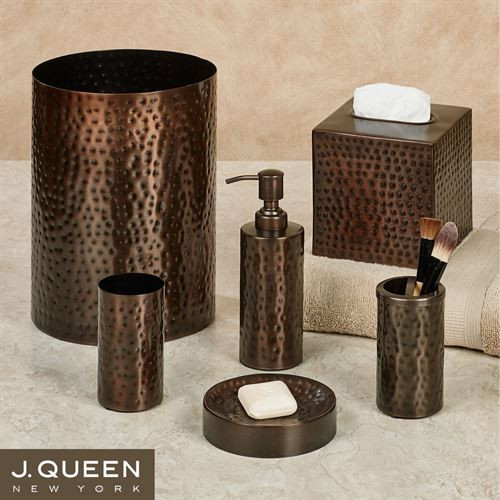 Best ideas about Bronze Bathroom Accessories . Save or Pin Pressed Metal Bronze Bath Accessories by J Queen New York Now.