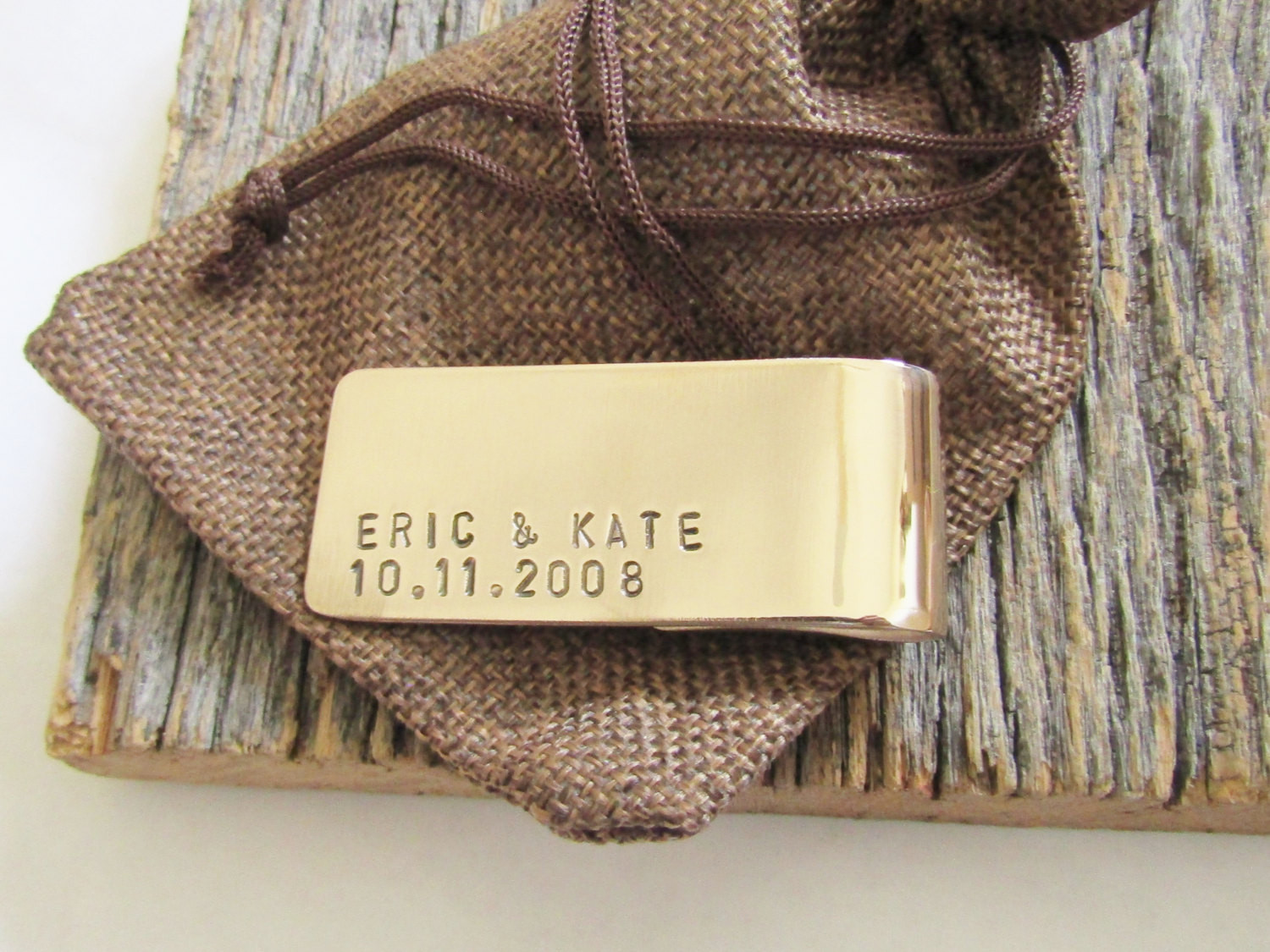 Best ideas about Bronze Gift Ideas . Save or Pin Bronze Money Clip Bronze Gift Men Bronze Anniversary Gift Now.