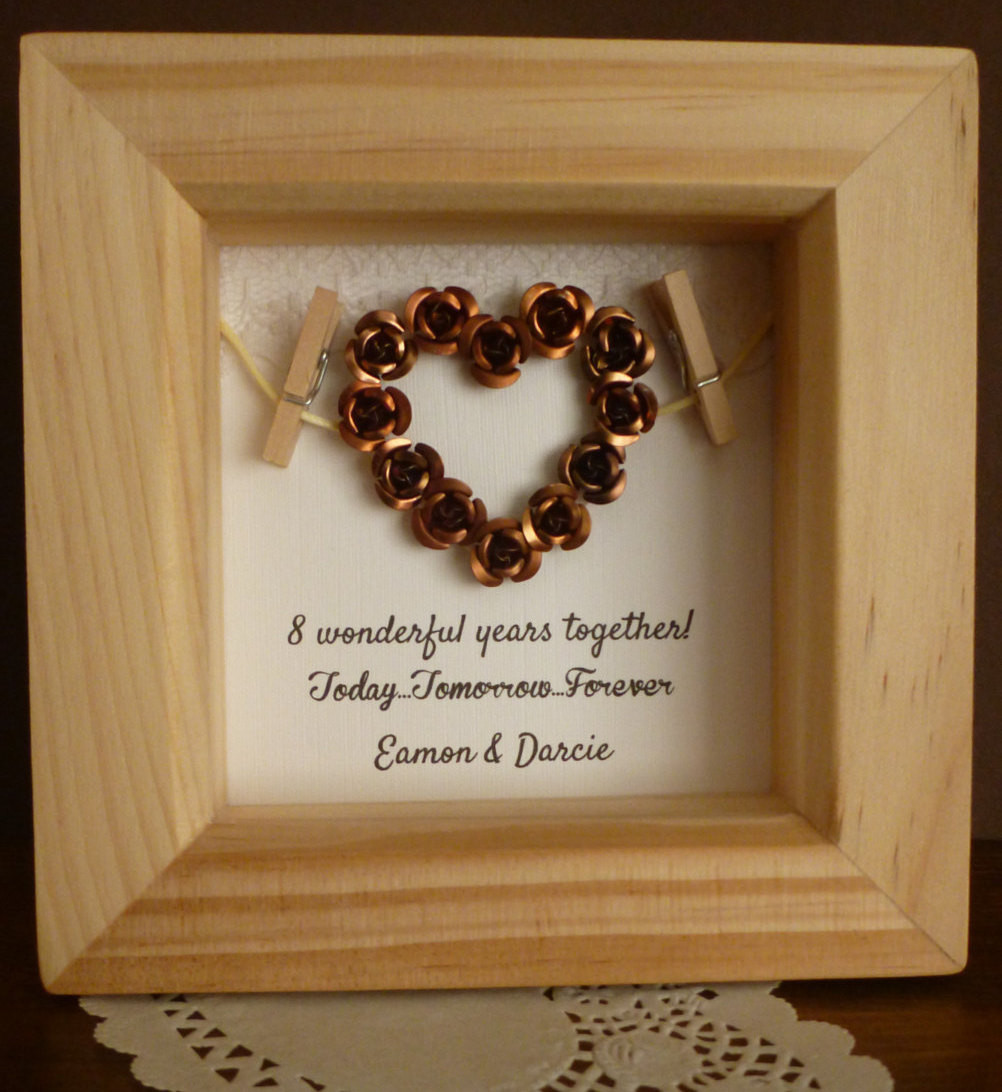 Best ideas about Bronze Gift Ideas . Save or Pin 8th Bronze anniversary t 8th wedding anniversary t Now.