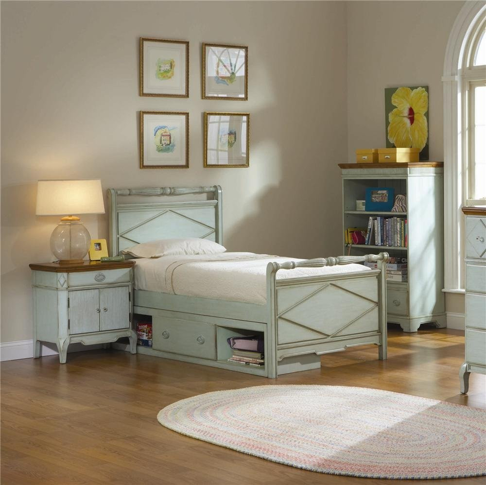 Best ideas about Broyhill Bedroom Set . Save or Pin Broyhill Furniture Halsten Collection Green Youth Storage Now.