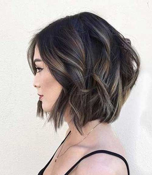 Best ideas about Brunette Bob Hairstyles . Save or Pin 1000 images about medium hair 2016 on Pinterest Now.