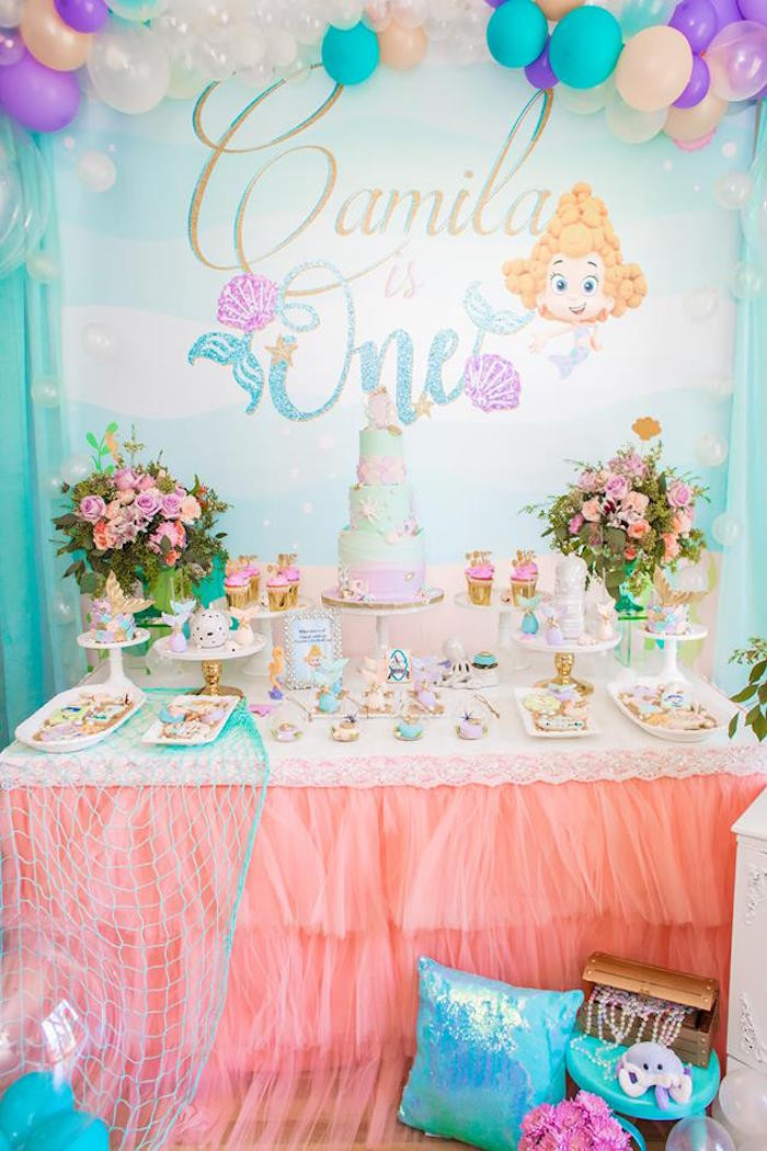 Best ideas about Bubble Guppie Birthday Party Ideas . Save or Pin Kara s Party Ideas Bubble Guppies Birthday Party Now.