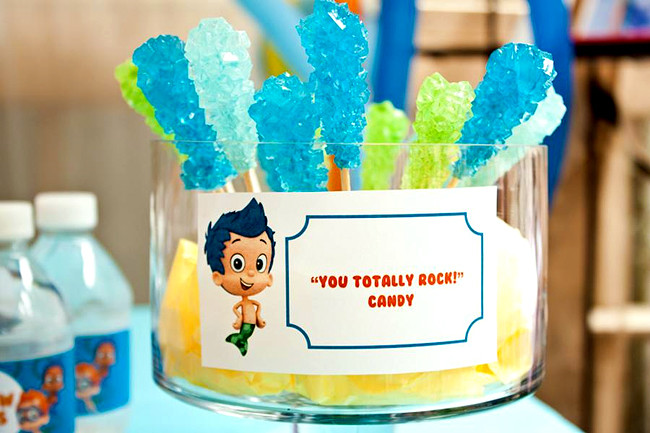 Best ideas about Bubble Guppie Birthday Party Ideas . Save or Pin Bubble Guppies Party Food Ideas Now.