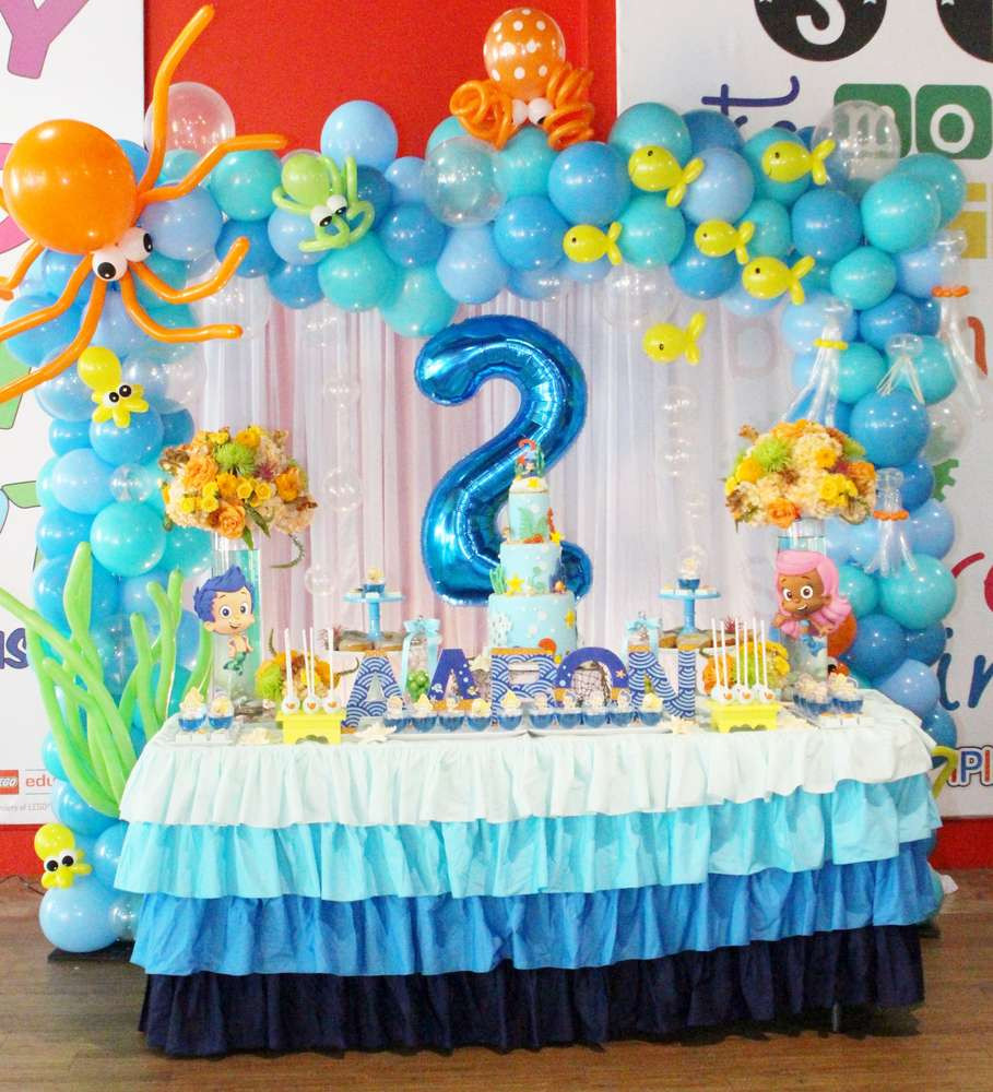 Best ideas about Bubble Guppie Birthday Party Ideas . Save or Pin Bubble Guppies Birthday Party Ideas Now.