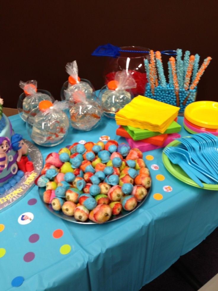 Best ideas about Bubble Guppie Birthday Party Ideas . Save or Pin pinrest bubble guppies centerpieces Now.