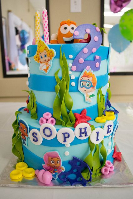 Best ideas about Bubble Guppie Birthday Party Ideas . Save or Pin Bubble Guppies Birthday Cake Ideas and Inspiration Now.