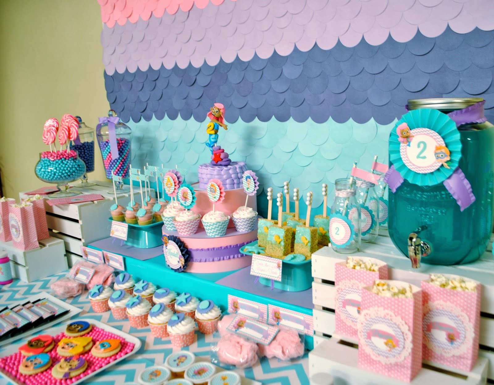 Best ideas about Bubble Guppie Birthday Party Ideas . Save or Pin Karo s Fun Land Bubble Guppies 2nd Birthday Party Now.