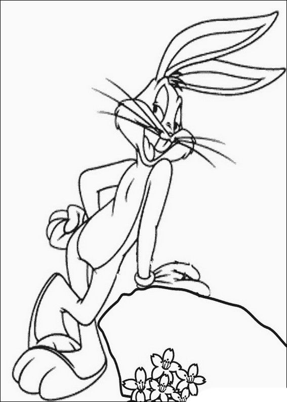 Best ideas about Bugs Bunny Printable Coloring Pages . Save or Pin Bugs Bunny Coloring Pages to and print for free Now.