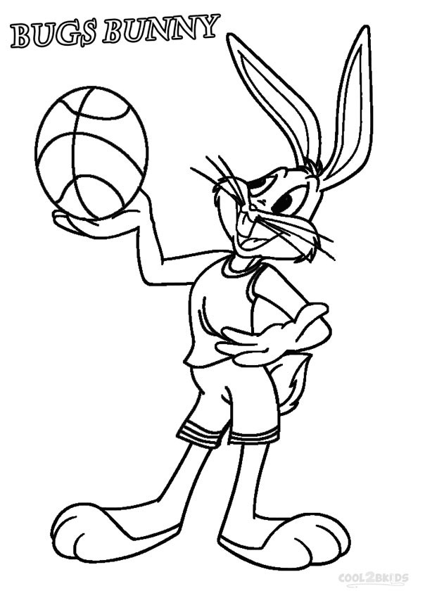 Best ideas about Bugs Bunny Printable Coloring Pages . Save or Pin Printable Bugs Bunny Coloring Pages For Kids Now.