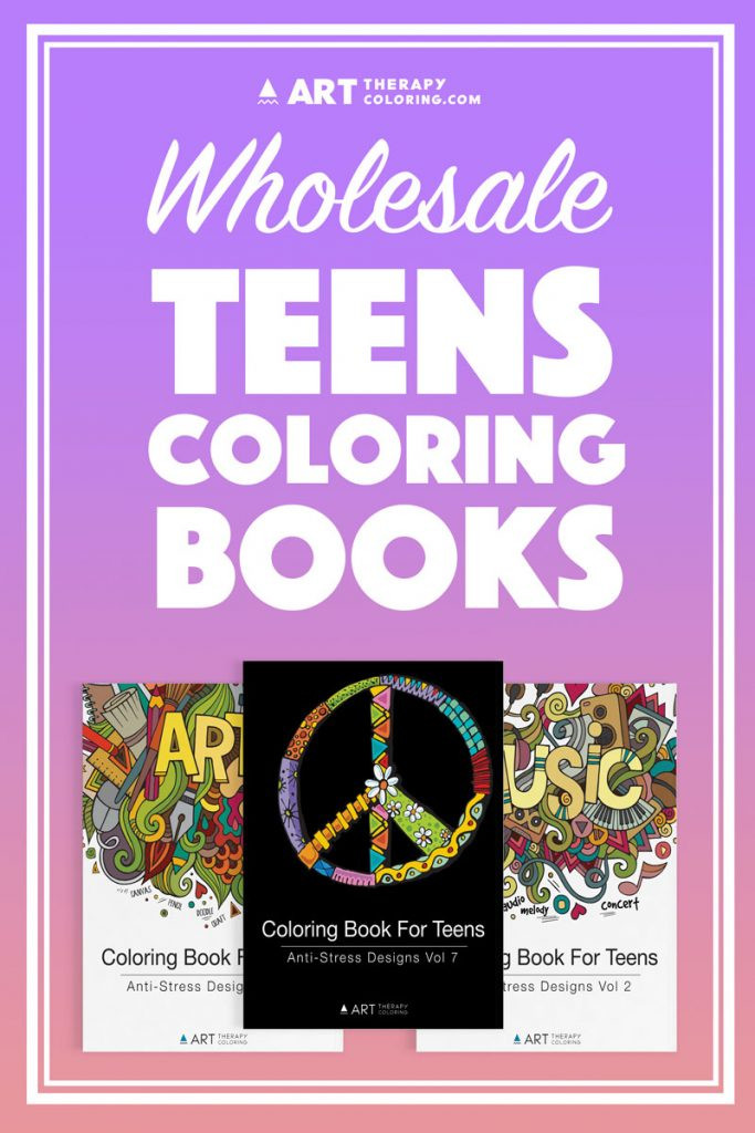 Best ideas about Bulk Adult Coloring Books . Save or Pin Wholesale Coloring Books for Teens Art Therapy Coloring Now.