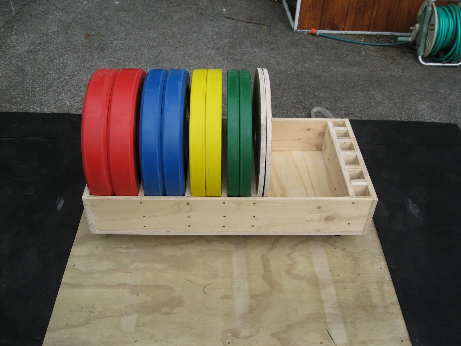 Best ideas about Bumper Plate Storage DIY . Save or Pin Back To Primal Rolling bumper plate storage Now.