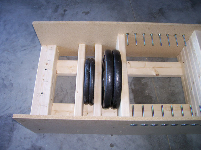 Best ideas about Bumper Plate Storage DIY . Save or Pin Diy Barbell Plate Rack Clublifeglobal Now.