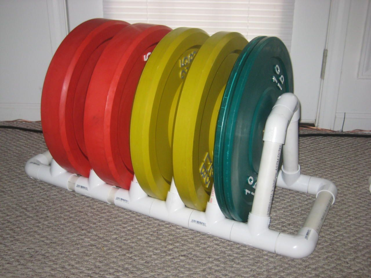 Best ideas about Bumper Plate Storage DIY . Save or Pin Pin by MFitness Bethal Gym on Gym Now.
