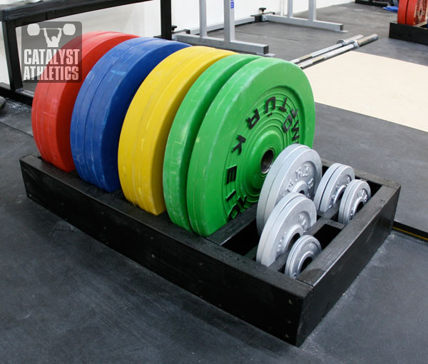Best ideas about Bumper Plate Storage DIY . Save or Pin Quick & Dirty Plate Rack by Greg Everett Equipment Now.