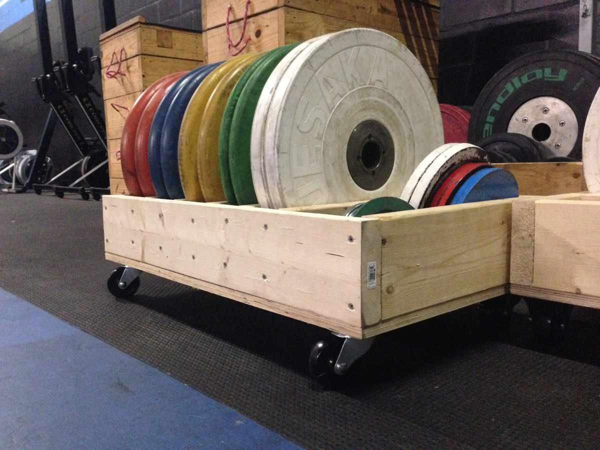 Best ideas about Bumper Plate Storage DIY . Save or Pin DIY Rolling Weight Trays Now.