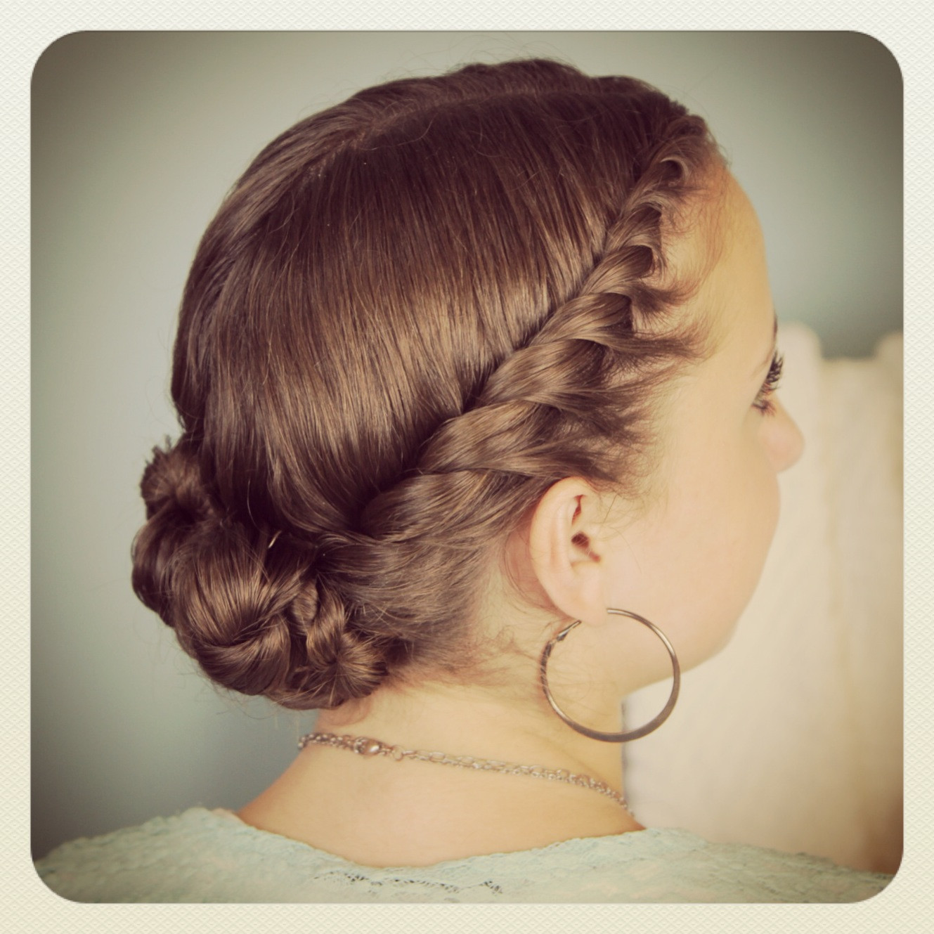 Best ideas about Bun Hairstyles For Girls . Save or Pin Double Twist Bun Updo Home ing Hairstyles Now.