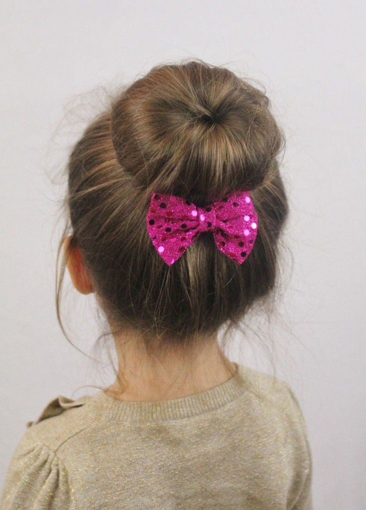 Best ideas about Bun Hairstyles For Girls . Save or Pin 14 Cute and Lovely Hairstyles for Little Girls Pretty Now.