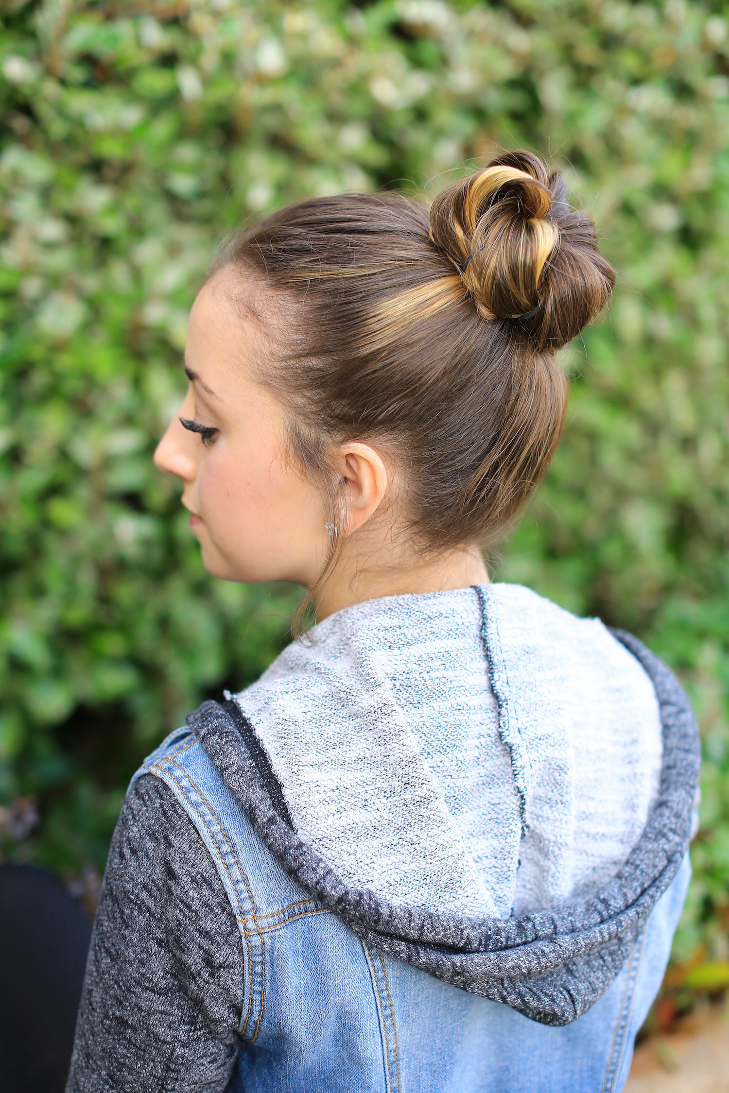 Best ideas about Bun Hairstyles For Girls . Save or Pin How to Create a Crown Bun Now.