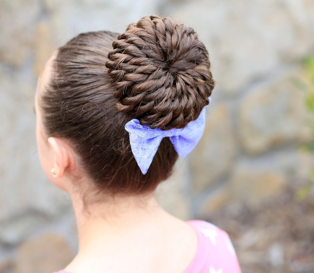 Best ideas about Bun Hairstyles For Girls . Save or Pin Trendy Cute Hairstyles for Girls Page 2 of 2 Hairstyle Now.