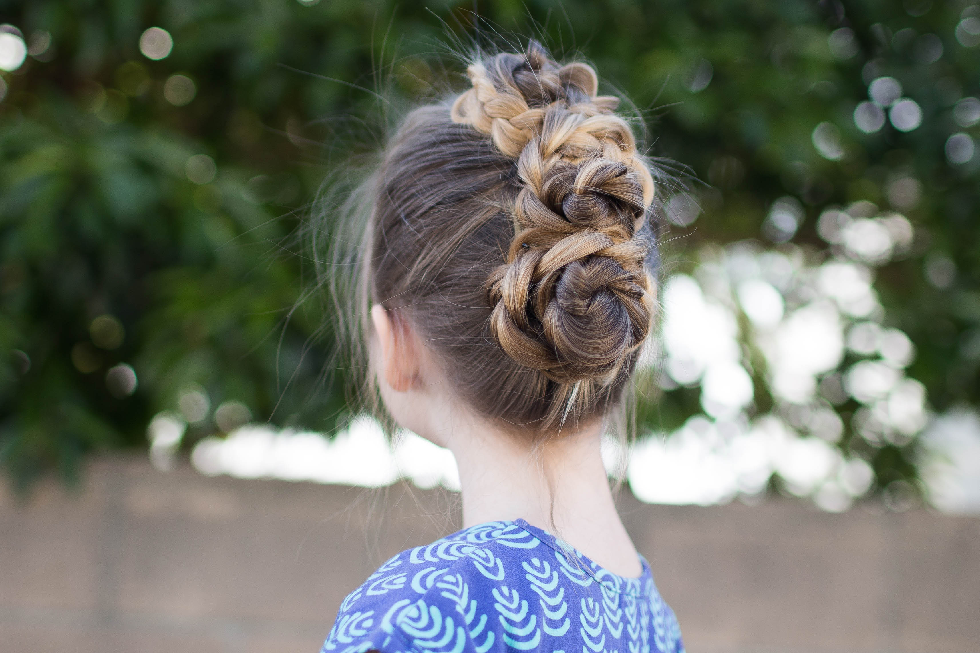 Best ideas about Bun Hairstyles For Girls . Save or Pin Triple Bun Updo Now.