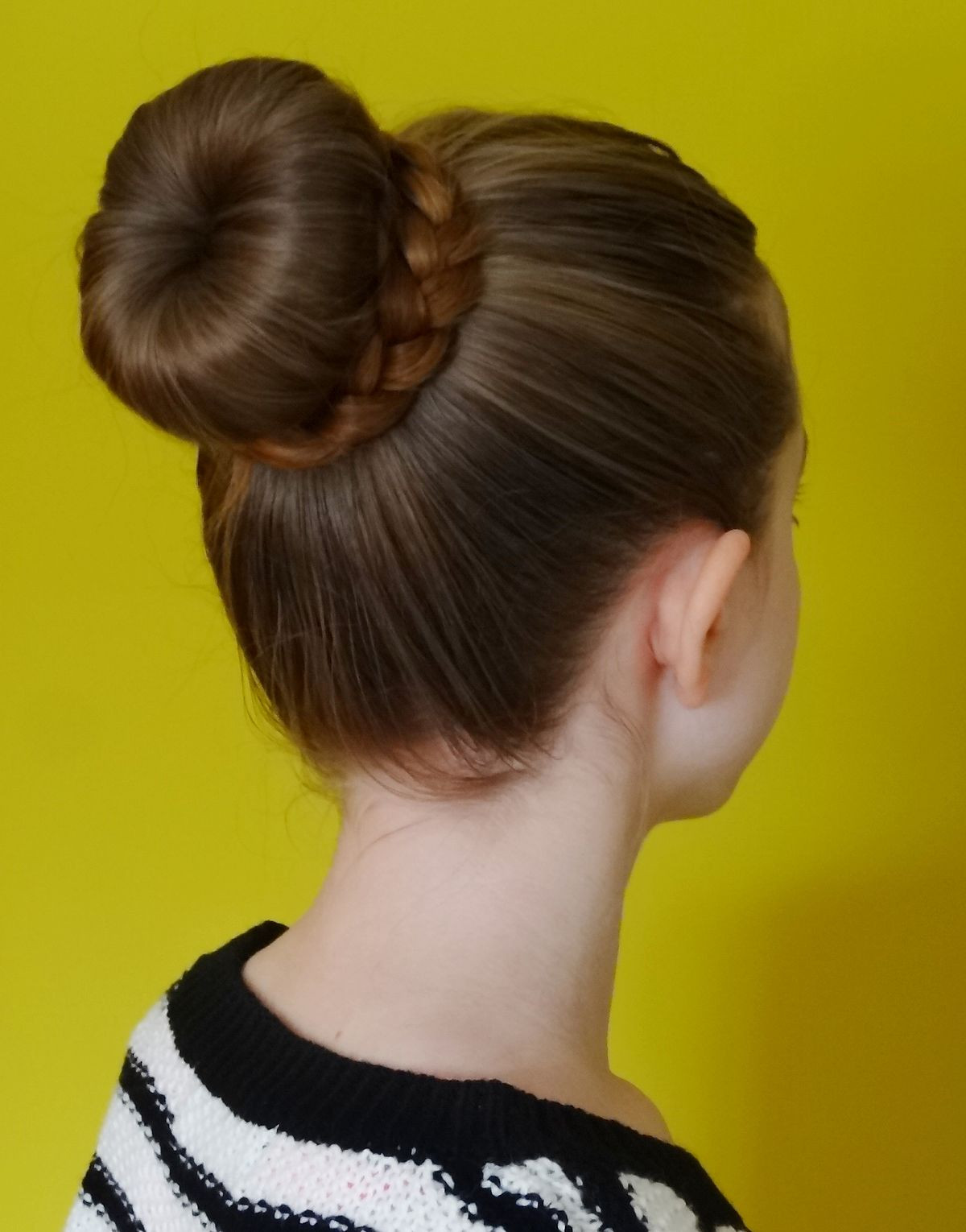 Best ideas about Bun Hairstyles For Girls . Save or Pin Bun hairstyle Now.