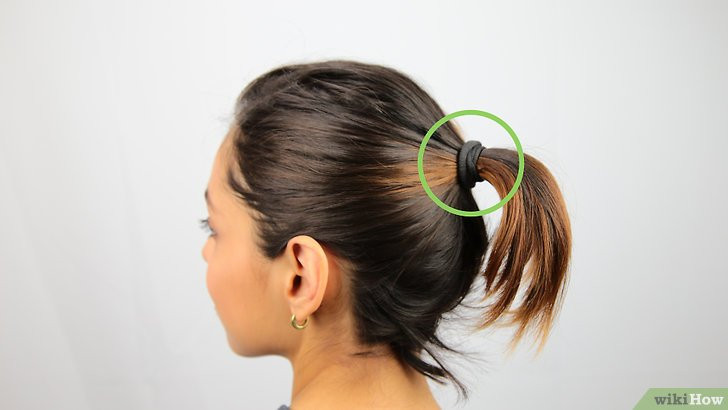 Best ideas about Bun Hairstyles For Short Hair Step By Step . Save or Pin Een knotje maken in kort haar wikiHow Now.