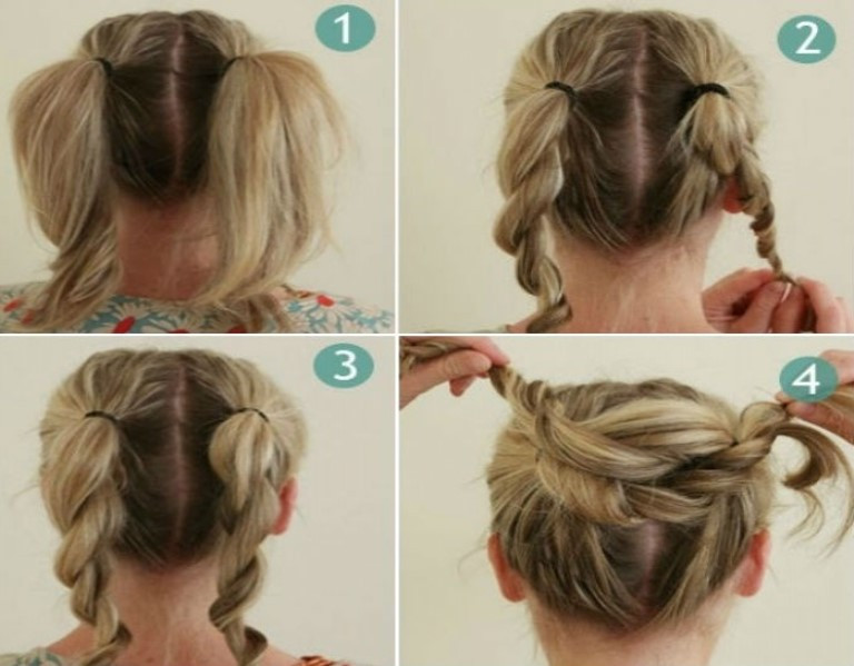 Best ideas about Bun Hairstyles For Short Hair Step By Step . Save or Pin Bun Hairstyles for Your Wedding Day with Detailed Steps Now.