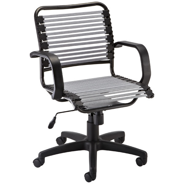 Best ideas about Bungee Office Chair . Save or Pin Silver Flat Bungee fice Chair with Arms Now.