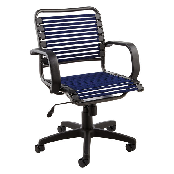 Best ideas about Bungee Office Chair . Save or Pin Navy Flat Bungee fice Chair with Arms Now.