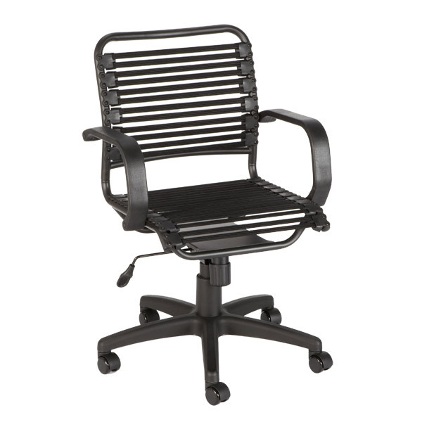 Best ideas about Bungee Office Chair . Save or Pin Black Flat Bungee fice Chair with Arms Now.