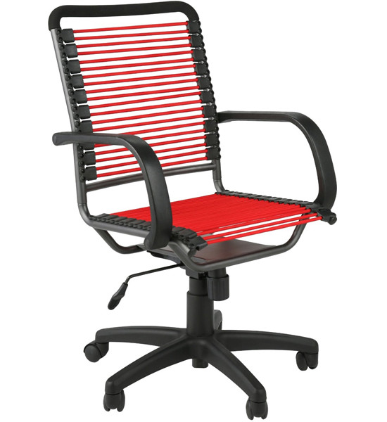 Best ideas about Bungee Office Chair . Save or Pin Bungee High Back fice Chair Red and Black in fice Chairs Now.