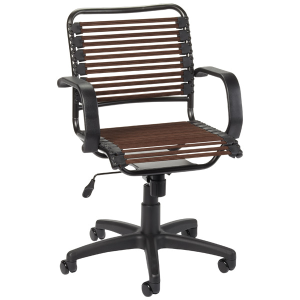 Best ideas about Bungee Office Chair . Save or Pin Chocolate Flat Bungee fice Chair with Arms Now.