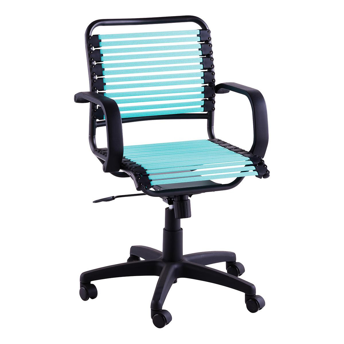 Best ideas about Bungee Office Chair . Save or Pin Turquoise Flat Bungee fice Chair with Arms Now.