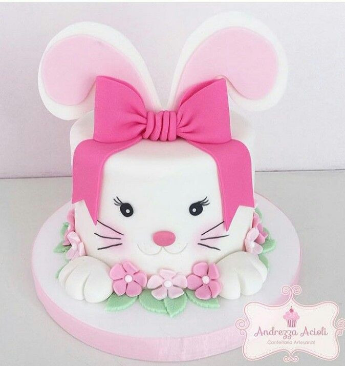 Best ideas about Bunny Birthday Cake . Save or Pin 25 best ideas about Bunny Cakes on Pinterest Now.