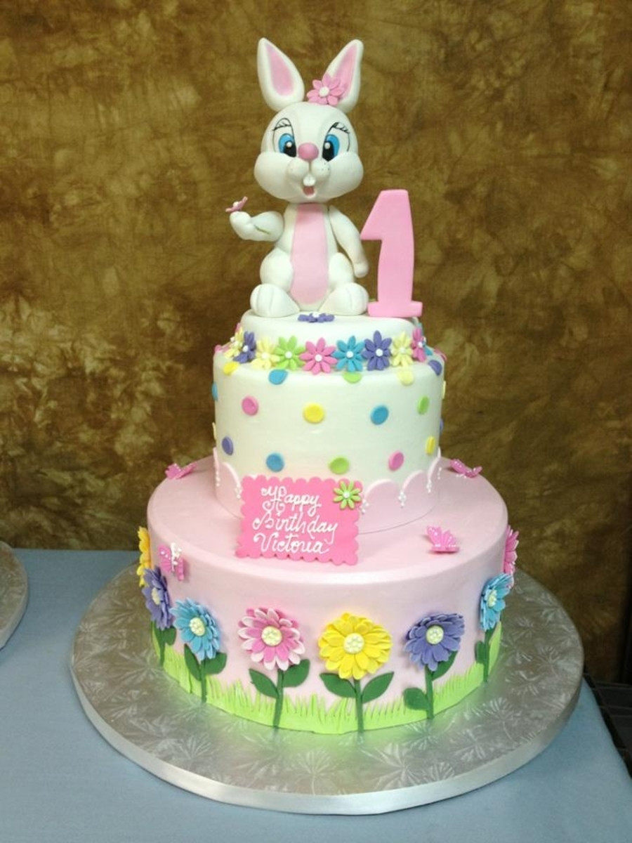 Best ideas about Bunny Birthday Cake . Save or Pin Easter Bunny Birthday Cake CakeCentral Now.