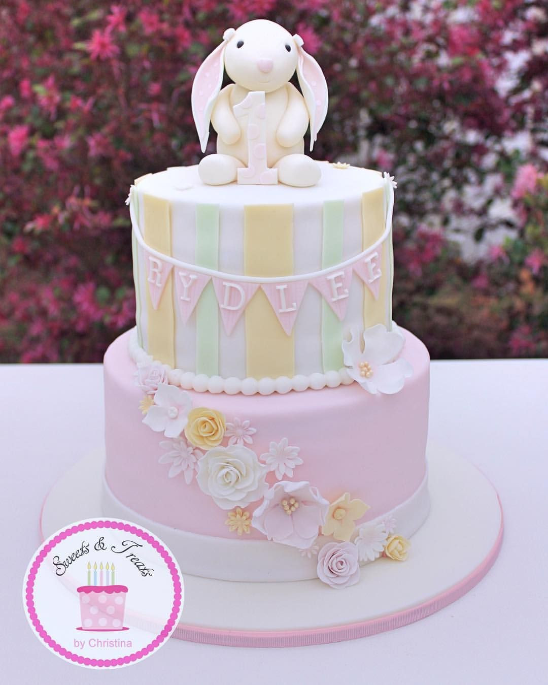 Best ideas about Bunny Birthday Cake . Save or Pin A vintage bunny cake for a first birthday somebunnyisone Now.