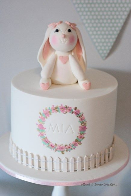 Best ideas about Bunny Birthday Cake . Save or Pin Best 25 Bunny cakes ideas on Pinterest Now.