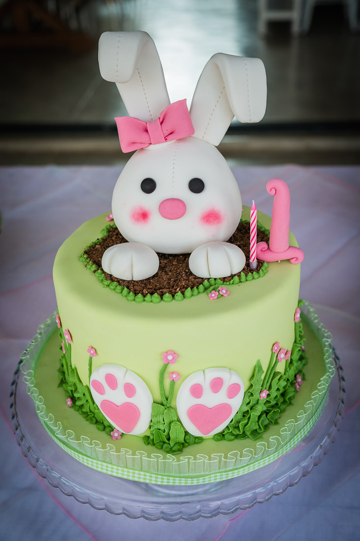 Best ideas about Bunny Birthday Cake . Save or Pin 1st Birthday with Bunny Cake and Decorations Now.