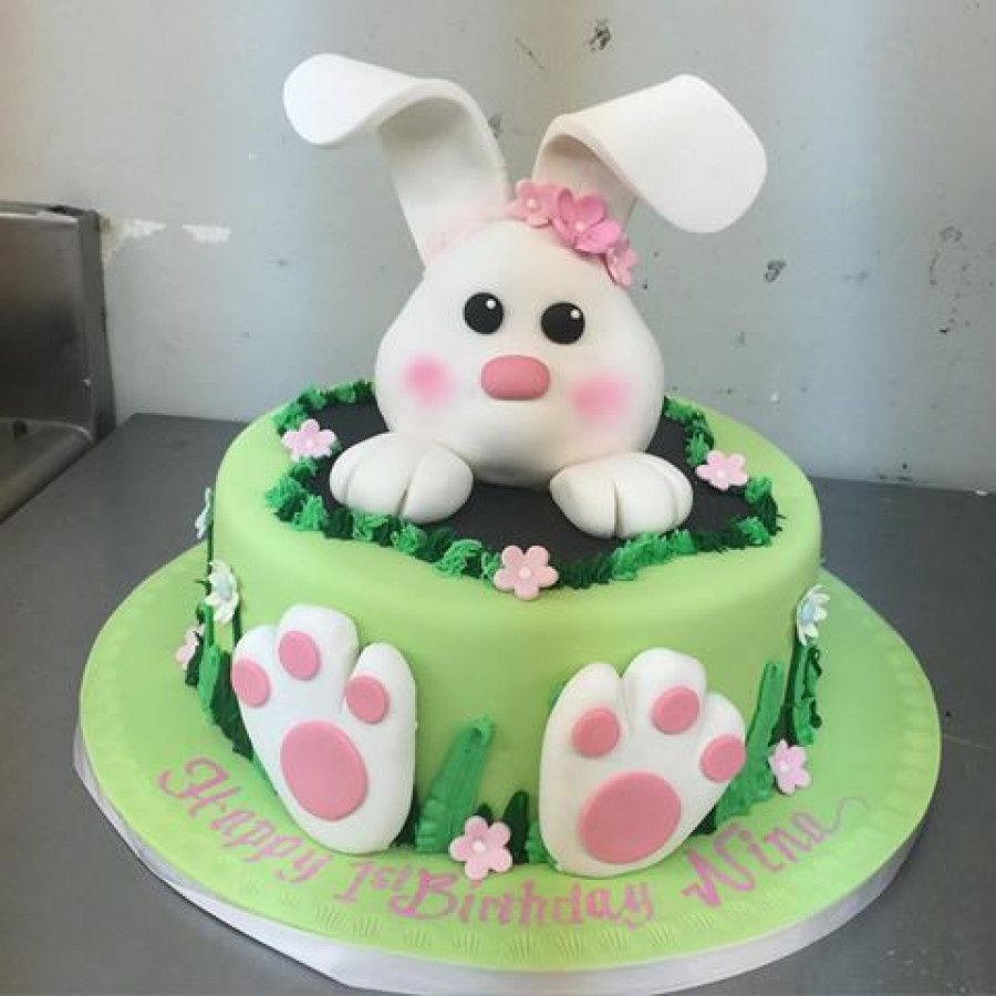 Best ideas about Bunny Birthday Cake . Save or Pin Need Advice Bunny Cake Topper CakeCentral Now.