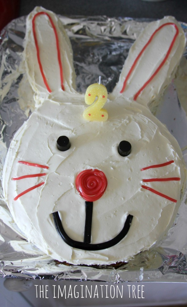 Best ideas about Bunny Birthday Cake . Save or Pin Bunny Birthday Party The Imagination Tree Now.