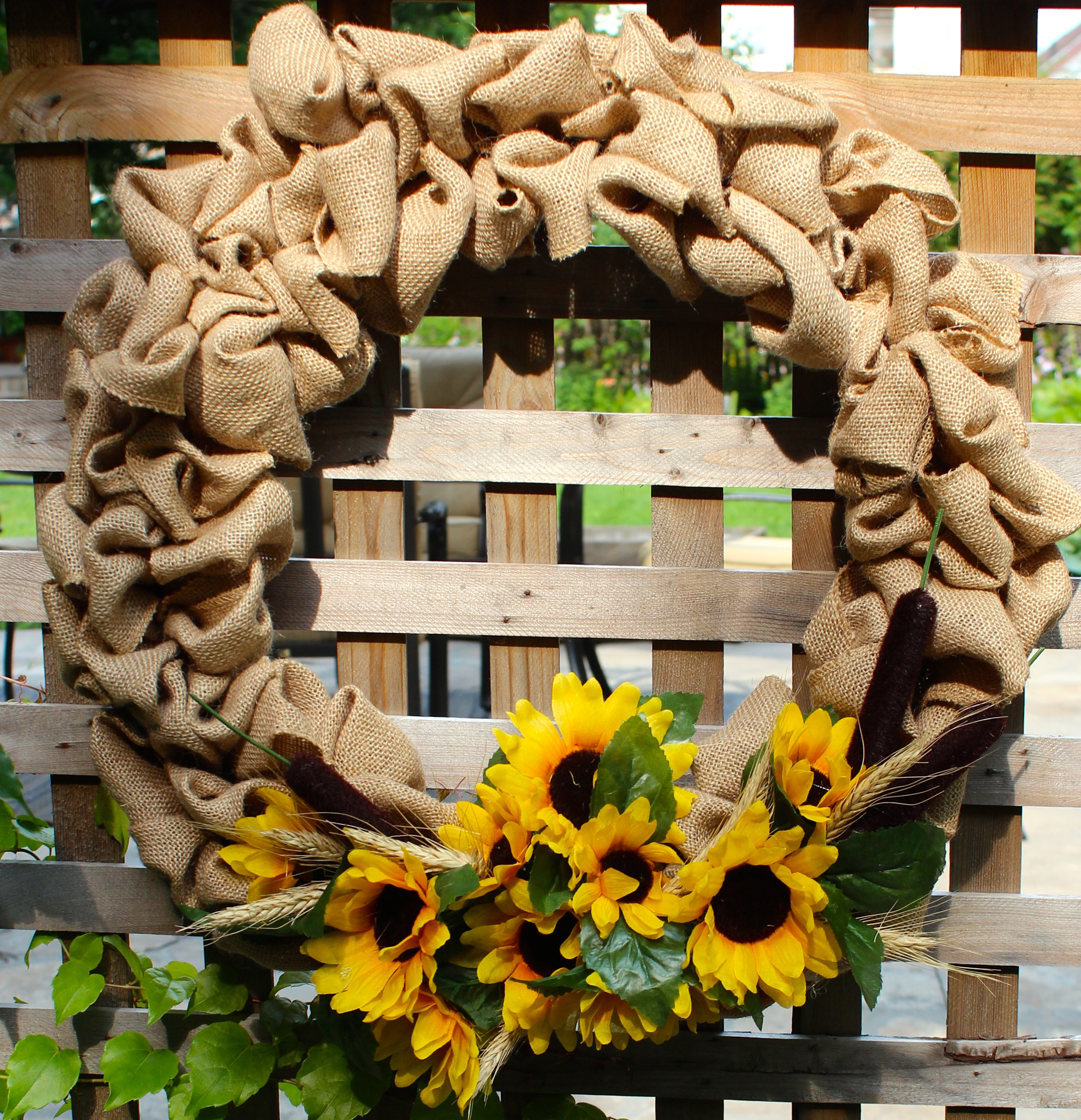 Best ideas about Burlap Wreath DIY . Save or Pin Summer Burlap DIY Wreath New House New Home Now.
