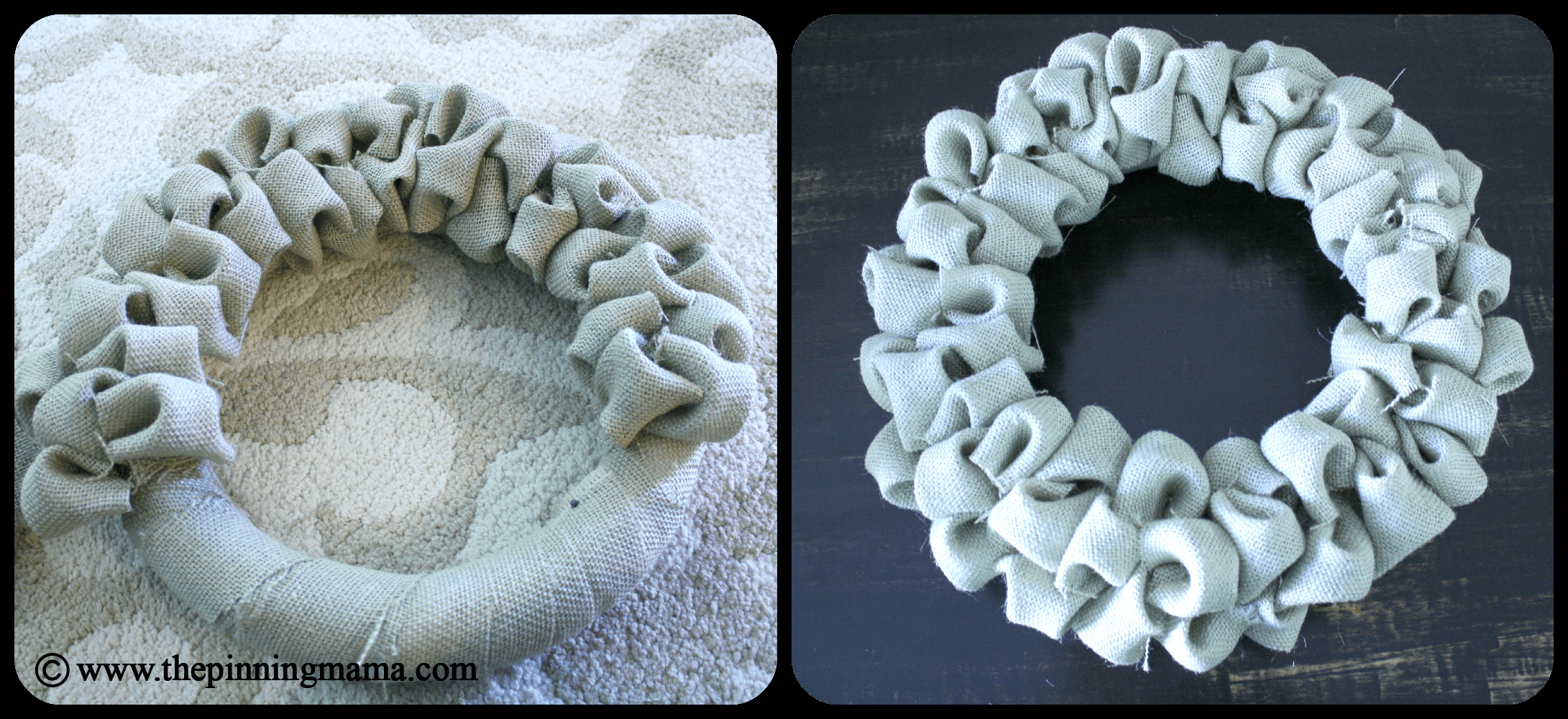 Best ideas about Burlap Wreath DIY . Save or Pin Pin Test DIY Burlap Bubble Wreath Now.